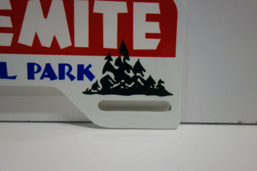 "LARGE YOSEMITE NATIONAL PARK 4 3//4/"" High by 10/"" Wide Auto Plate Topper"