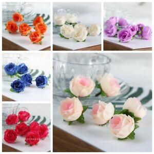 Craft wedding party decor 50pcs artificial silk rose peony flower image is loading craft wedding party decor 50pcs artificial silk rose mightylinksfo