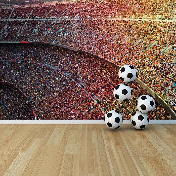 Crowded Stadium Wall Mural Football Photo Wallpaper Sports & Hobbies Home Decor
