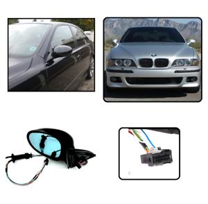 2-RETROVISEUR-LOOK-M5-RABATTABLE-ELECTRIQUE-POUR-BMW-SERIE-5-E39-DE-1995-A-2003