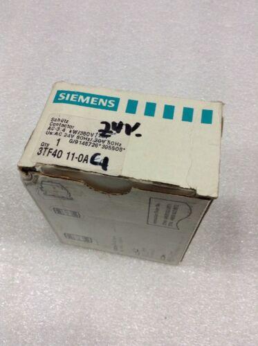 Siemens 3TF40 11-0AC1 Contactor 24V 60Hz//50Hz NEW!!