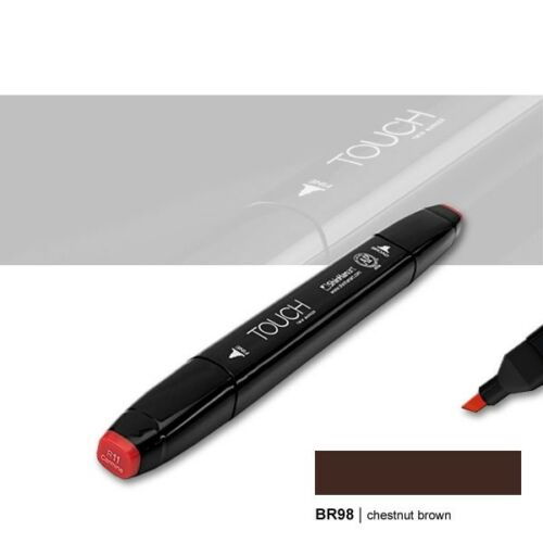 Chestnut Brown Touch Twin Marker BR98 Layoutmarker