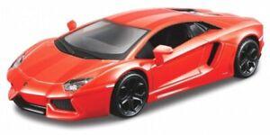 LAMBORGHINI Aventador LP 700-4 - orangemetallic - Bburago 1:32