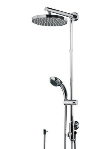 Schulte DuschMaster Rain mit Umsteller Kopfbrause rund Dusche Markenqualität