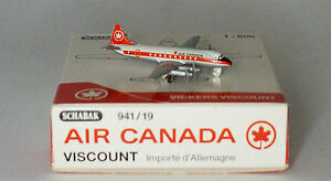 Schabak-Vickers-Viscount-724-Air-Canada-1st-version-in-1-600-scale