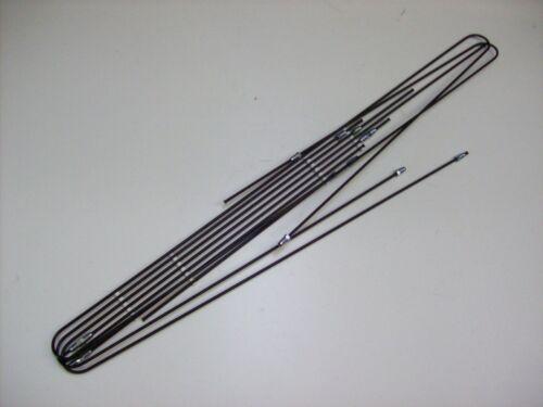 Bremsleitungssatz Bremsleitung Bremsrohr Fiat 124 Coupe Bj 62
