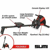 Viavito Sumi Compact Magnetic Rower Fitness Folding Rowing Machine