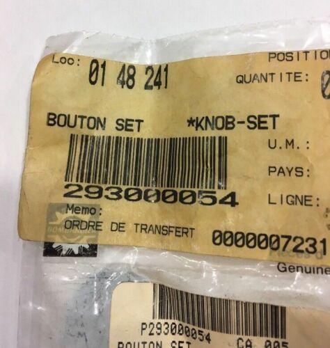 New OEM Sea-Doo Set Knob GSX GTX GS NOS Part Number 293000054