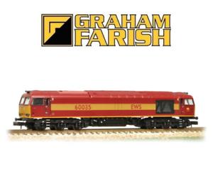 Graham-Farish-371-350a-Klasse-60-60035-Lok-EWS-N-Gauge