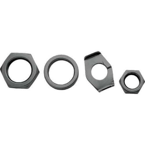Colony Axle Nut and Lock Kit Rear Parkerized #9692-4 Harley Davidson