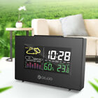 Digoo Color LCD Temperature Humidity Meter Weather Forecast Station Alarm Clock