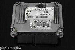 VW-Sharan-7N-2-0-TDI-UNITE-DE-COMMANDE-DE-MOTEUR-MKB-CFG-03l906018g-03l907309q