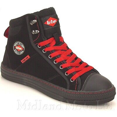 Lee Cooper Converse Baseball Boot LC022 Hi top Basic Safety Boot LC022