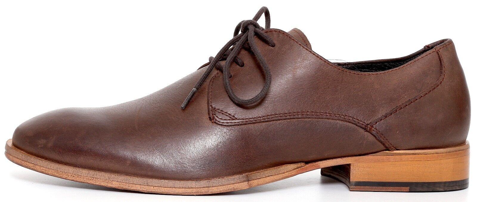 Kurt Geiger Preston Men's Brown Leather Oxfords 7006 Size 41
