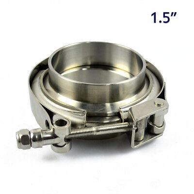 Pot d/'échappement bride de large bande bride de raccords de canalisation en acier inoxydable Ø 66,5 mm pour BMW