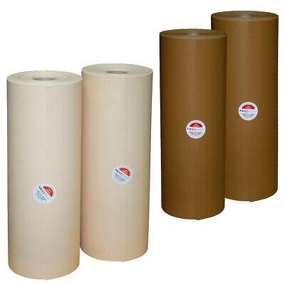 3 Rollen Schrenzpapier Packpapier jeweils 50 cm Breit 250 lfm ~ 10 KG 80 g m²