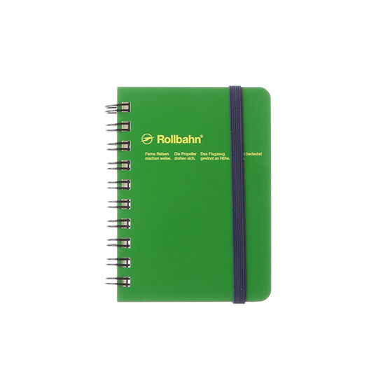 Rollbahn Spiral Notebook from Japan