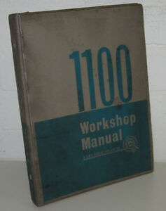 Up-To-Date-Styling Bücher Auto & Verkehr Mutig Werkstatthandbuch Morris Bmc 1100 Manual Workshop Stand August 1963