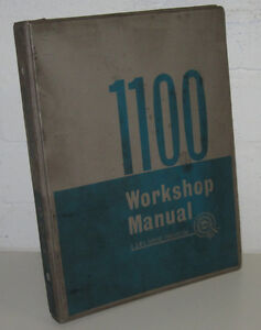 Automobilia Mutig Werkstatthandbuch Morris Bmc 1100 Manual Workshop Stand August 1963 Up-To-Date-Styling