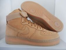 Nike Air Force 1 High 07 Lv8 Flax wheat Sz 13 RARE 806403 200