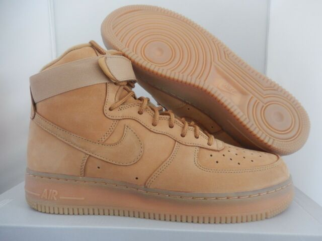 newest collection 3f36b ad36f NIKE AIR FORCE 1 HIGH 07 LV8 FLAX-WHEAT SZ 13 RARE!  806403