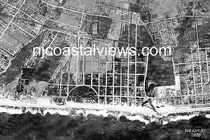 Sea Girt NJ Unique Aerial Photo Prints from 1920, 1933 & 1962