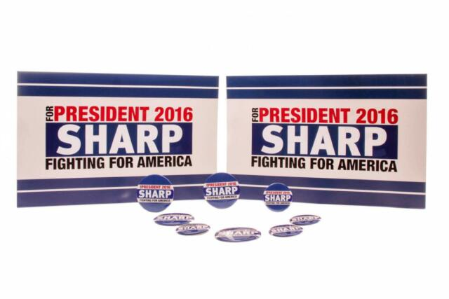 House of Cards Screen Used Jackie Sharp 2016 Election Campaign Set