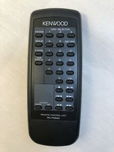KENWOOD-RC-P0504-5-Disc-CD-Changer-Remote-Control-Tested-SeeAd-4CompatibleModels