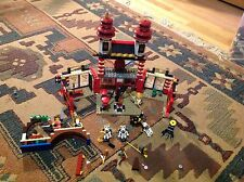 70505 LEGO Ninjago Temple of Light set with 9 mini figs lot near complete