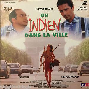 INDIEN-DANS-LA-VILLE-UN-WS-VF-PAL-LASERDISC-Thierry-Lhermitte-Ludwig-Briand