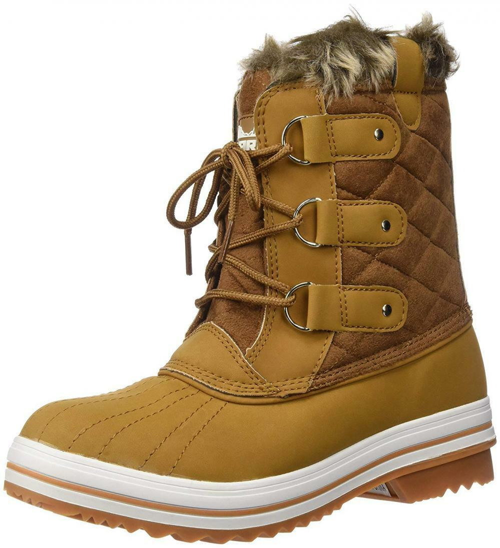Polar Products Boot Donna Snow Boot Products Quilted Short Winter Rain Warm Waterproof Stivali f94611