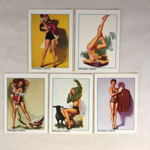 """21st C. HOLLYWOOD PINUPS Complete /""""MARILYN MONROE NORMA JEAN/"""" Chase Card Set"""
