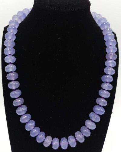 """Énorme 8x12mm Natural alexandrite pierres précieuses à facettes Boulier perles Collier 18/"""" AAA"""