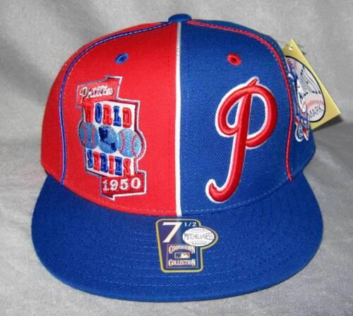 Mitchell/&Ness Cap Mitchell /& Ness Cap PHILADELPHIA PHILLIES Baseball fitted Cap