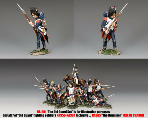 KING /& COUNTRY THE AGE OF NAPOLEON NA358 FRENCH OLD GUARD STANDING READY