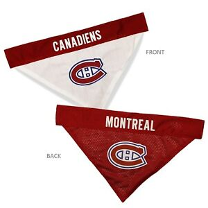 Montreal-Canadiens-NHL-Licensed-Pets-First-Dog-Pet-Reversible-Bandana-2-Sizes