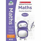 National Curriculum Maths Practice Book for Year 4 by Scholastic (Paperback, 2014)