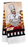Home Collection Kitchen Towel Cotton//Polyester Blend~ Set of 2 Chef
