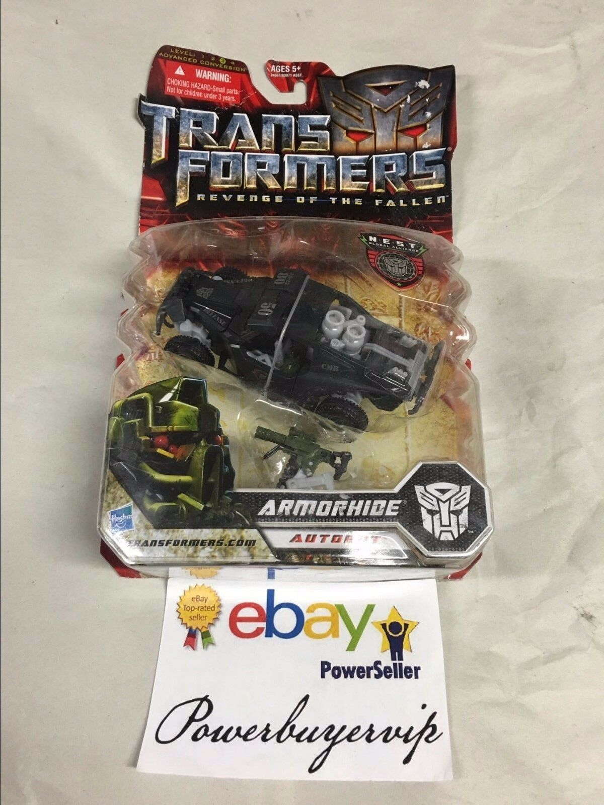 nuovo Hasbro Transformers Revenge of the Ftuttien Auotbot Deluxe Armorhide cifra