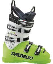2013 Dalbello Scorpion SR 110 Mens Race Ski Boots Size 7 (UK) LimeWhite DSR1103