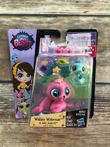 Littlest-Pet-Shop-Wallace-Waterman-3818-Sally-Seaforth-NEW-US-Seller-Free-Ship