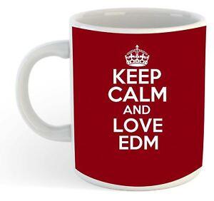 Keep Calm And Love Edm Tasse - Bordeaux 3jacrhlo-07235847-994062160