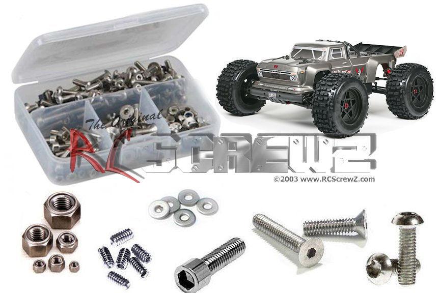 Arrma RC Outcast 6s BLX Stainless Screw Kit