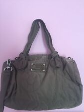 Marc By Marc Jacobs Nylon Medium Max Shopper Cross body Bag GRAY  NWT