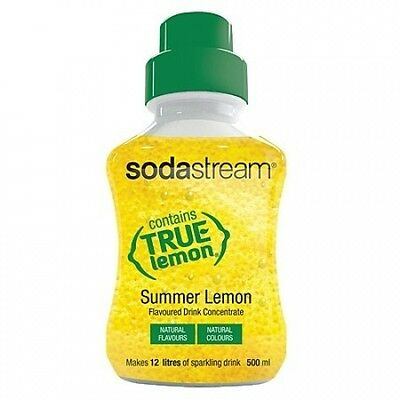 Sodastream Syrup Summer Lemon 500ml. Huge Saving