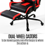 thumbnail 10 - Artiss Gaming Chair Office Computer Leather Chairs Executive Racer Gaming Chairs