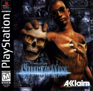 Shadow Man PS1 Great Condition Complete Fast Shipping
