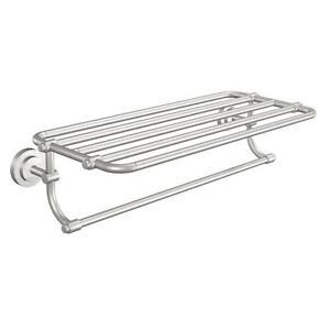 Bathroom Shelf With Towel Bar Brushed Nickel. Image Result For Bathroom Shelf With Towel Bar Brushed Nickel