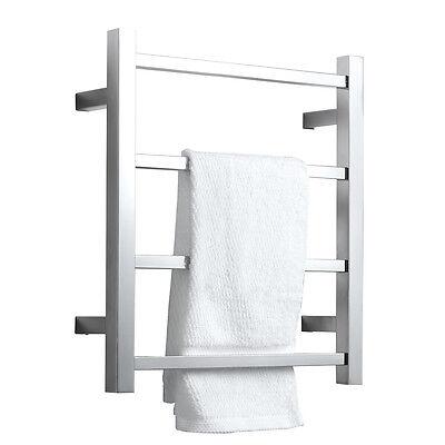 Hardwired Towel Warmer 4 Bars Heated Towel Racks For Bathrooms Socks Rack 602464400060 EBay