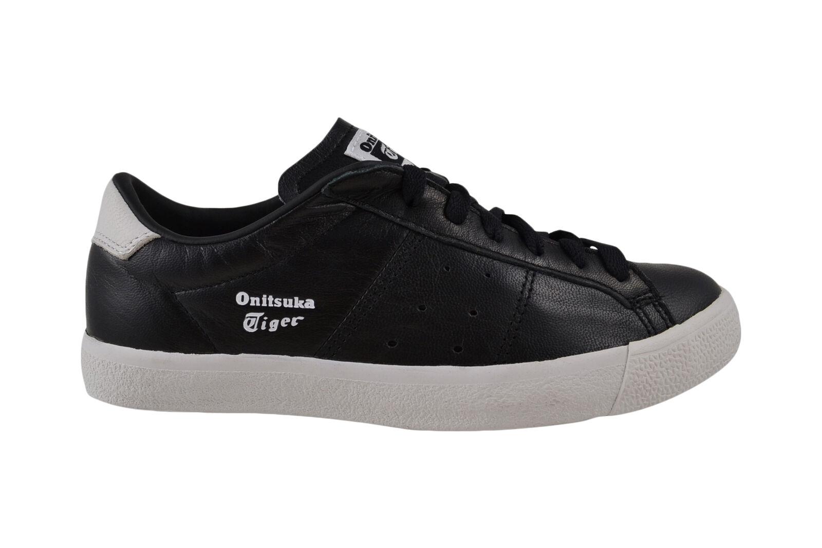 ASICS Onitsuka Tiger Lawnship nero bianca scarpe da ginnastica ginnastica ginnastica Scarpe 2e4722